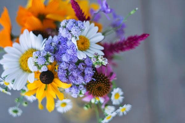 Mystic Midsummer- Midsummer wildflower bouquet