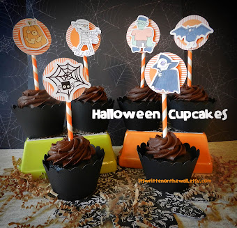 Fun Idea for Halloween Cupcakes!