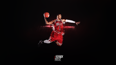Basketball Wallpapers - Derrick Rose Dunk Wallpaper