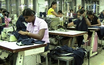 Apparel workers in Sri Lankan Garment Industry