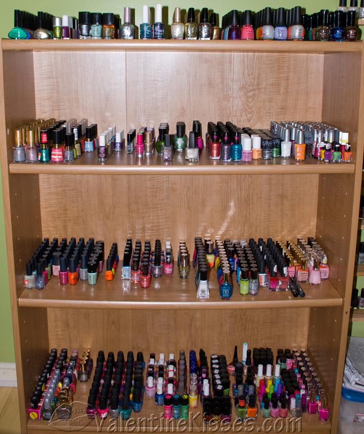 Valentine Kisses: My Personal In-Home Nail Salon! Pics!