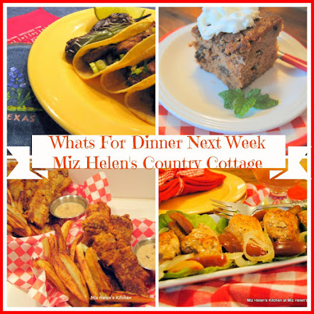 Whats For Dinner Next Week 1-15-17 to 1-21-17