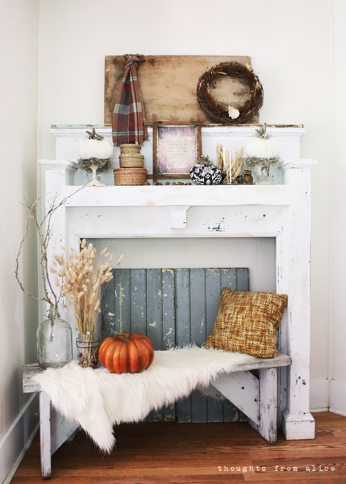 A Year Of Mantel Vignettes