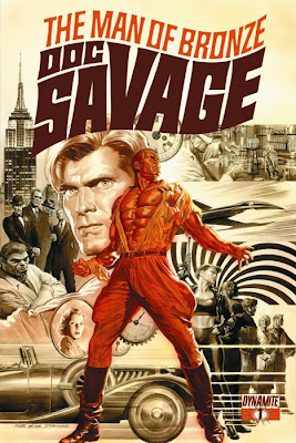 Doc Savage #1a cover from Dynamite Entertainment by Alex Ross