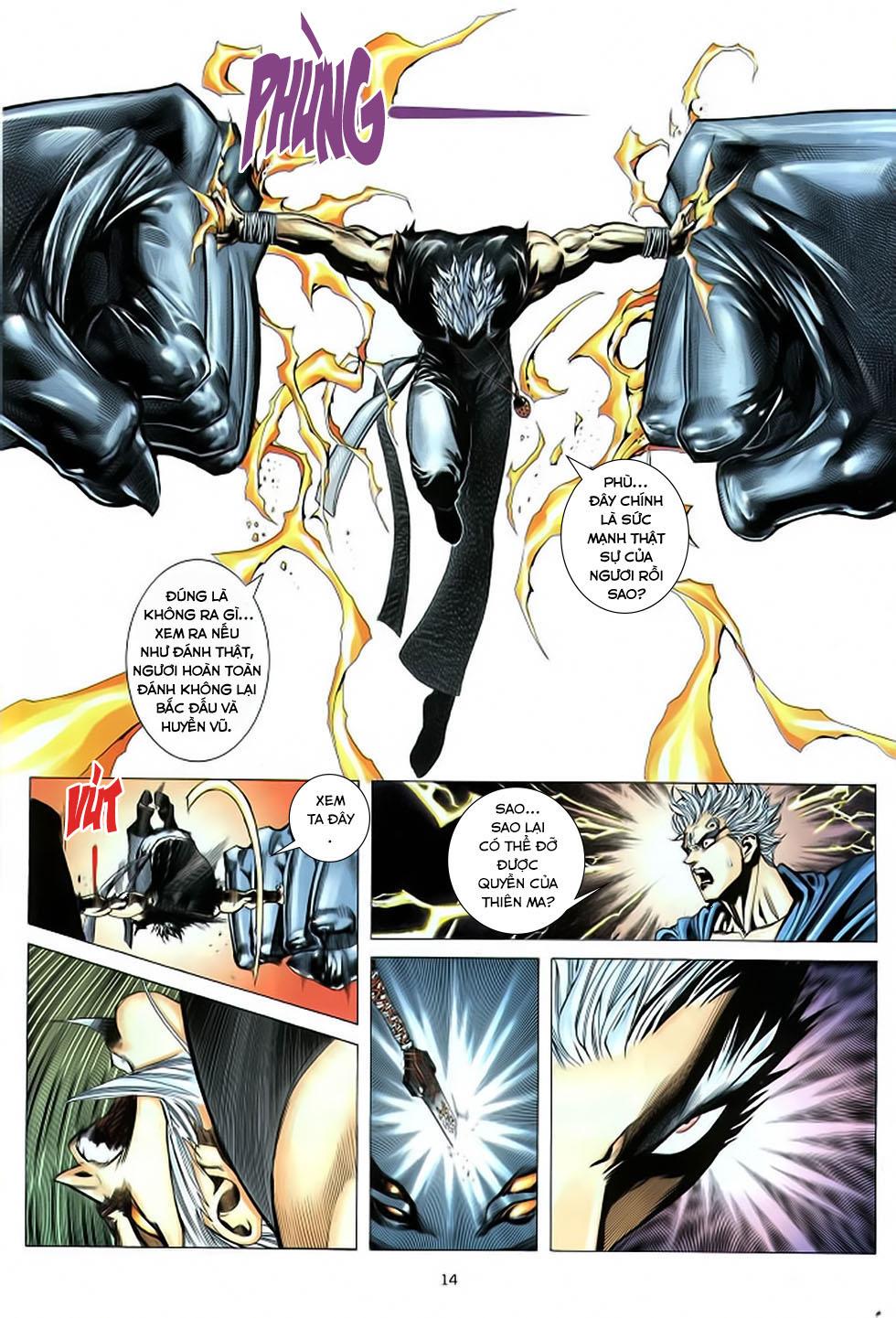 Chiến Thần Ký chap 39 - Trang 15