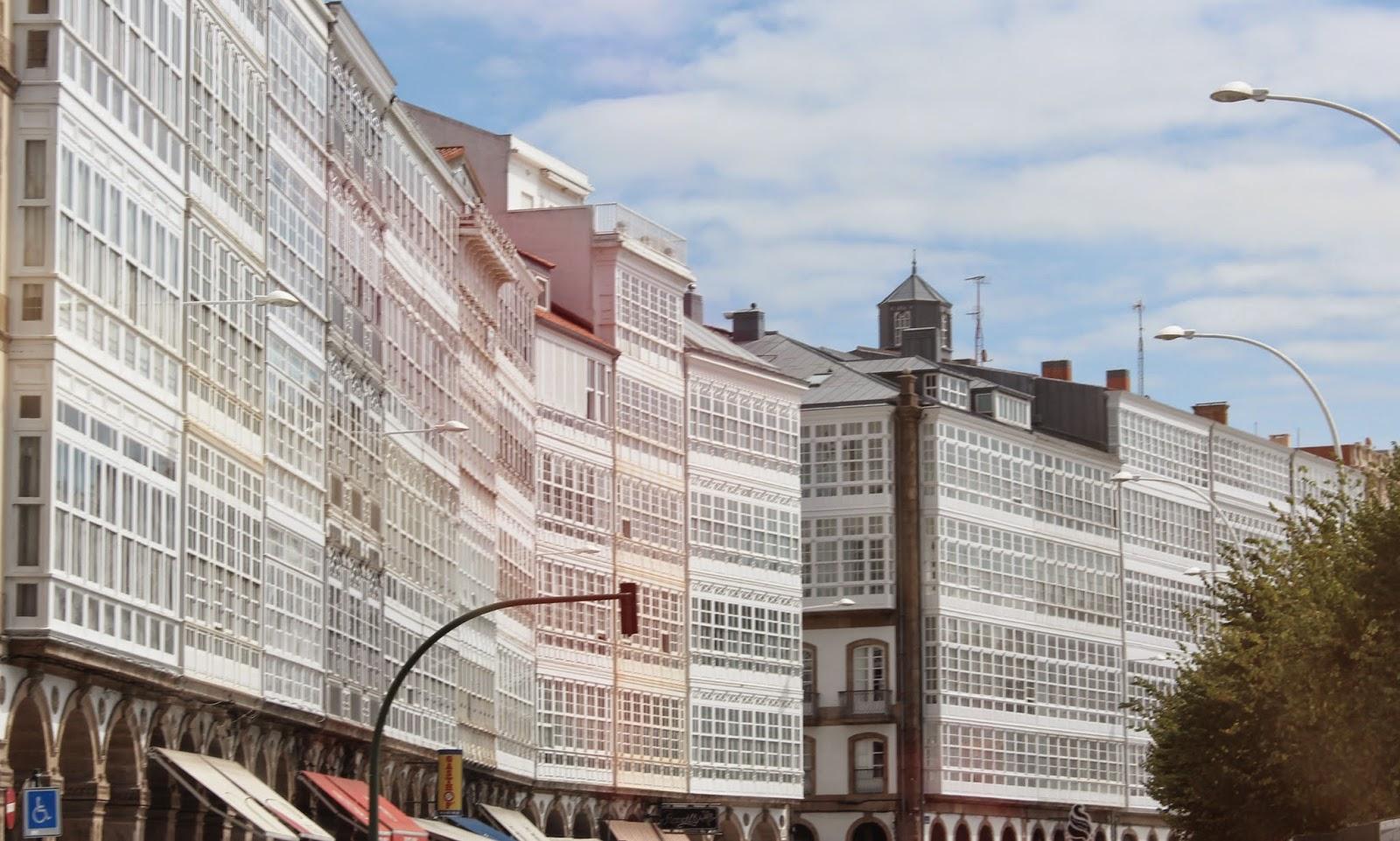 La Coruña, la ciudad de cristal
