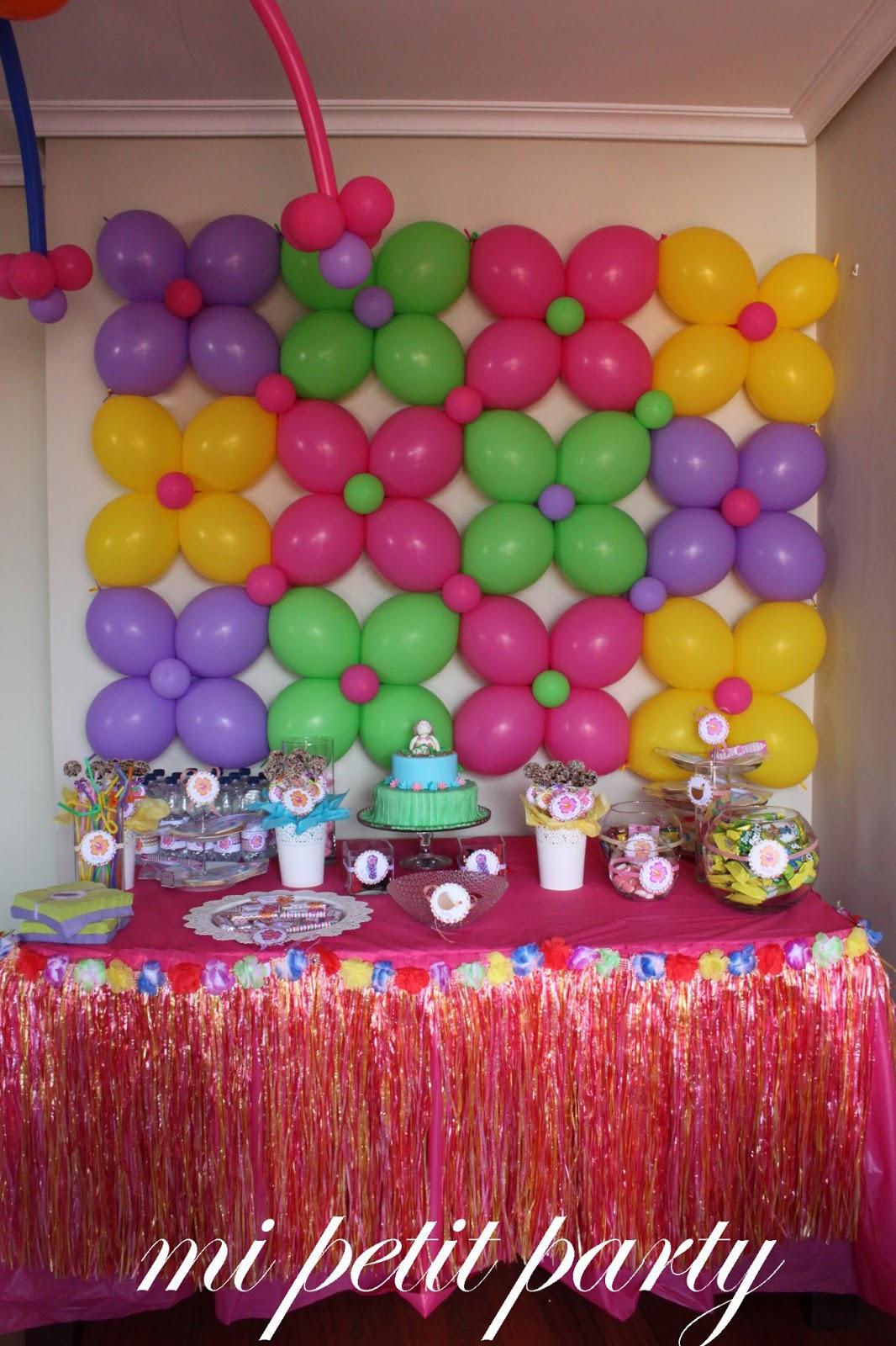 Mi Petit Party Fiesta Hawaiana