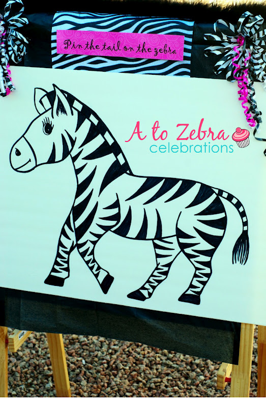 Zebra Birthday Party – A to Zebra Celebrations
