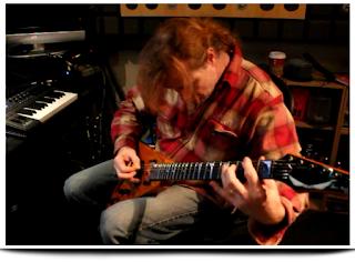 Dave Mustaine Grabando en el estudio