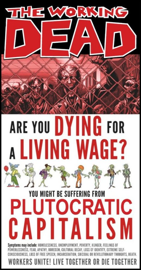 Zombie Workers: The Working Dead