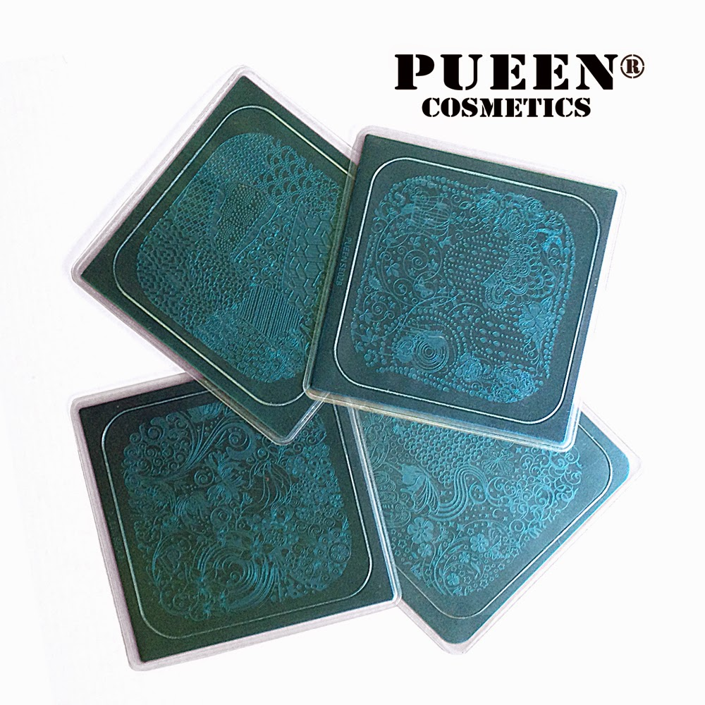 Lacquer lockdown - pueen cosmetics encore collection, encore collection plates, pueen encore collection, new stamping plates 2014, new nail art stamping plates 2014, new nail art plates 2014, new nail art image plates 2014, nail art, stamping, diy nail art, cute nail art ideas, nail art stamping blog