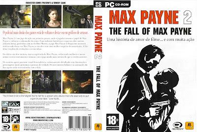Max Payne 2 PC DVD Capa