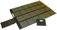 Paneles fotovoltaicos plegables.