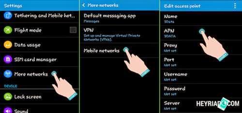 Cara Setting APN Internet 3 Di hp Android