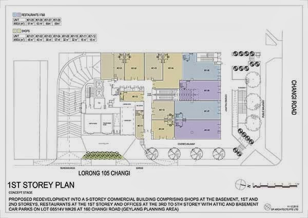 Hexacube @ Changi 1st storey floor plan