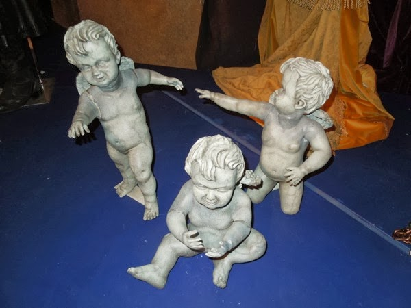 Doctor Who Weeping Angel Cherub props