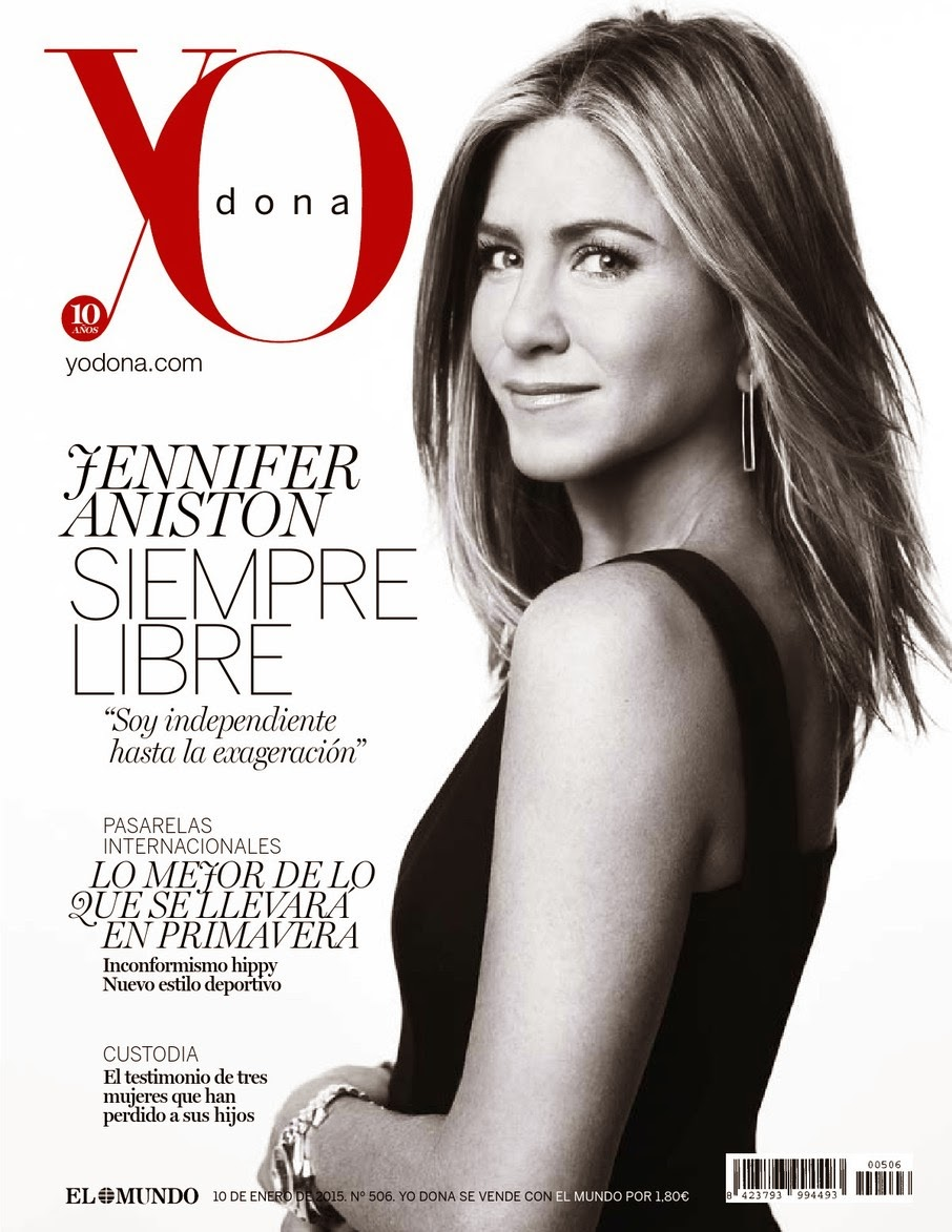 Jennifer Aniston - YO DONA Magazine, Spain, January 2015