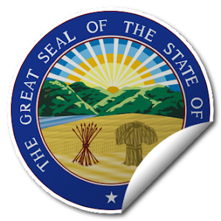 Sticker of Ohio Seal