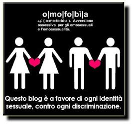 NO all' OMOFOBIA. Ma anche NO Alla Legge sull' OMOFOBIA