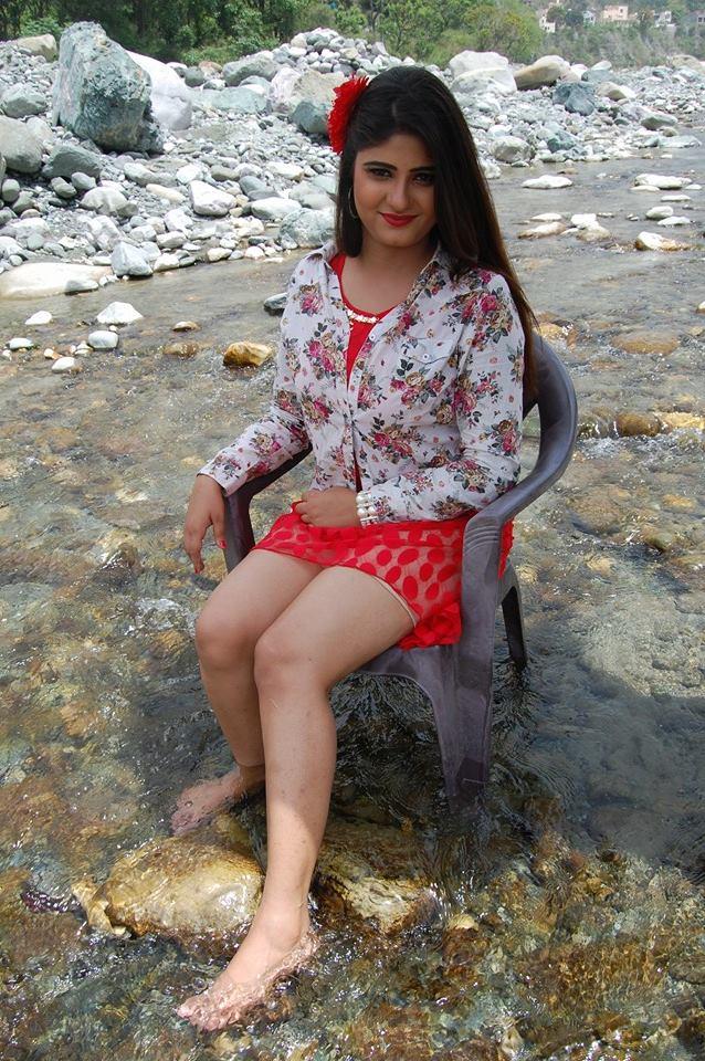 Neha Shree in Bikini look Dress HD wallpaper