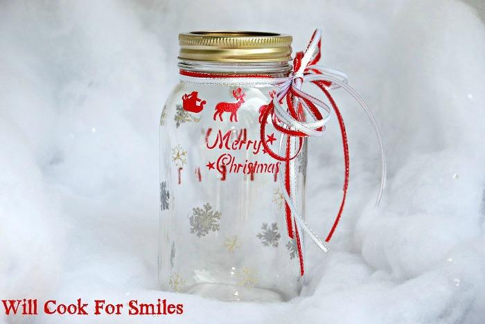 christmas cookie jar tutorial with martha stewart paints