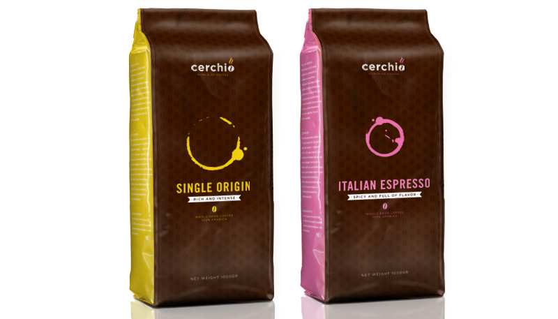 Cerchio coffee on packaging of the world creative package design gallery
