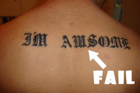 Best Tattoo Fails