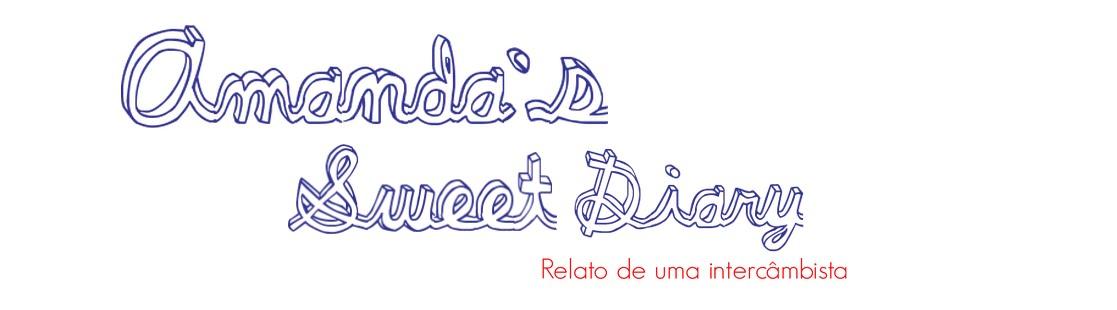 Amanda's sweet diary
