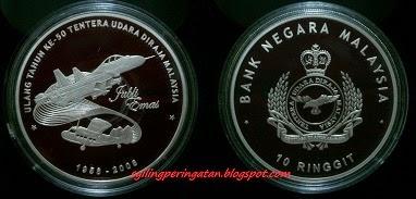 50 TAHUN TENTERA UDARA DIRAJA MALAYSIA (2008)