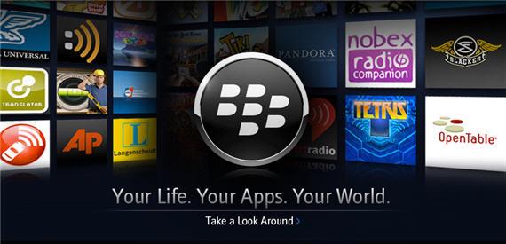 kumpulan aplikasi blackberry
