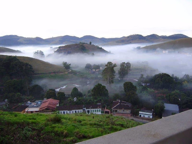 As belas montanhas de São José do Calçado