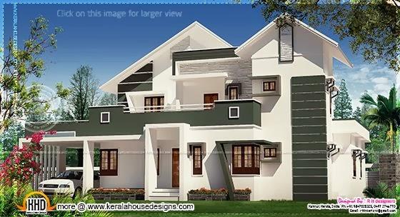 Modem villa design