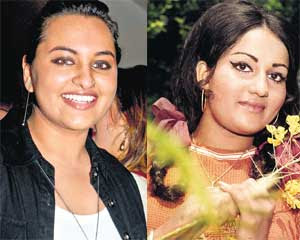 Sonakshi Sinha similarity with young Reena Roy