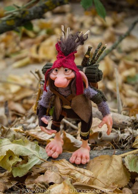 unique creations fantasy ooak goblin traveller pathfinder