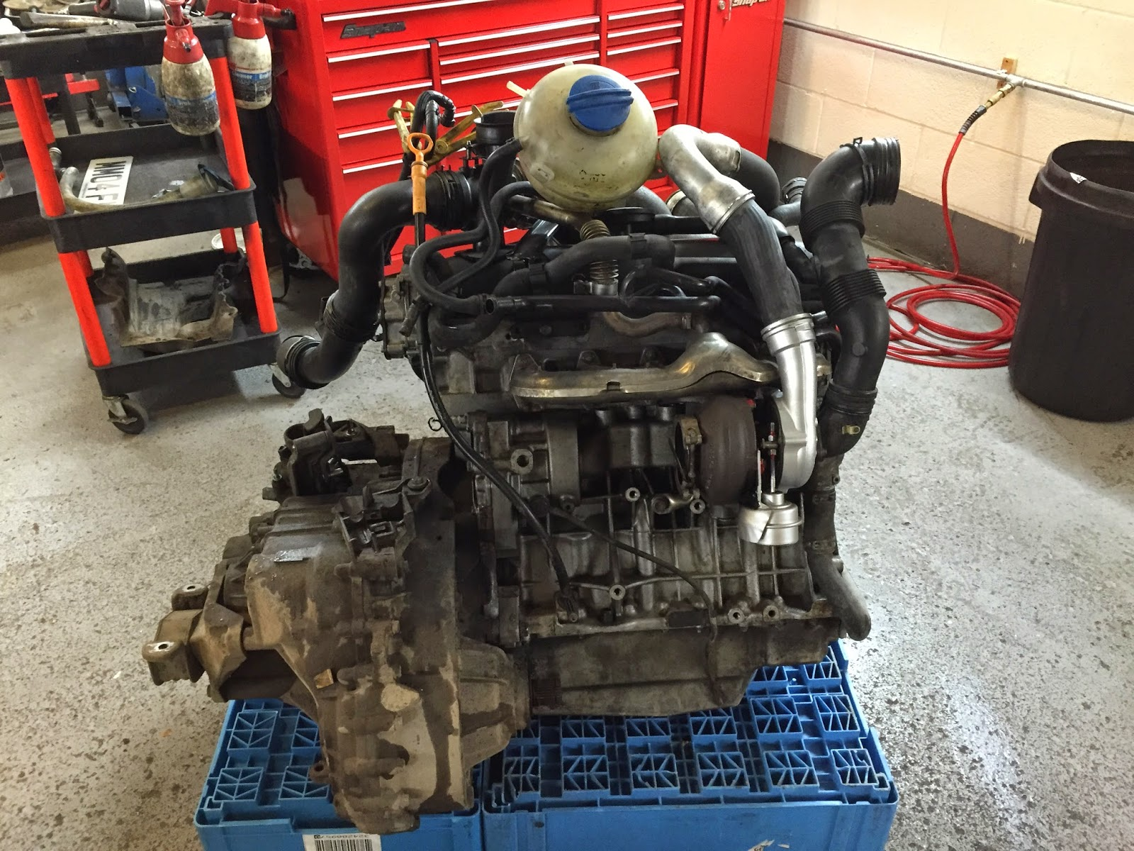 VWT5 engine completely out