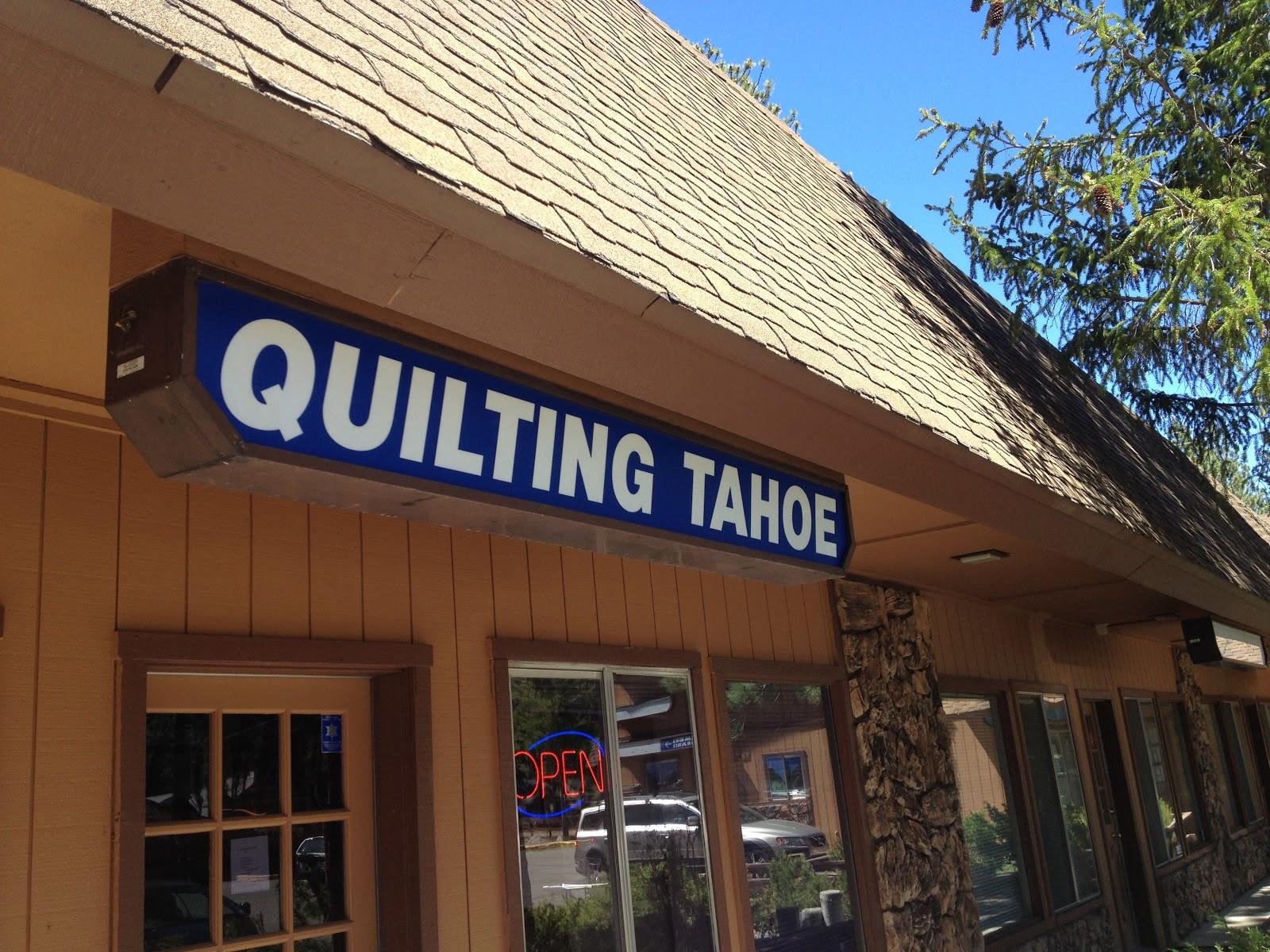 Quilting Tahoe