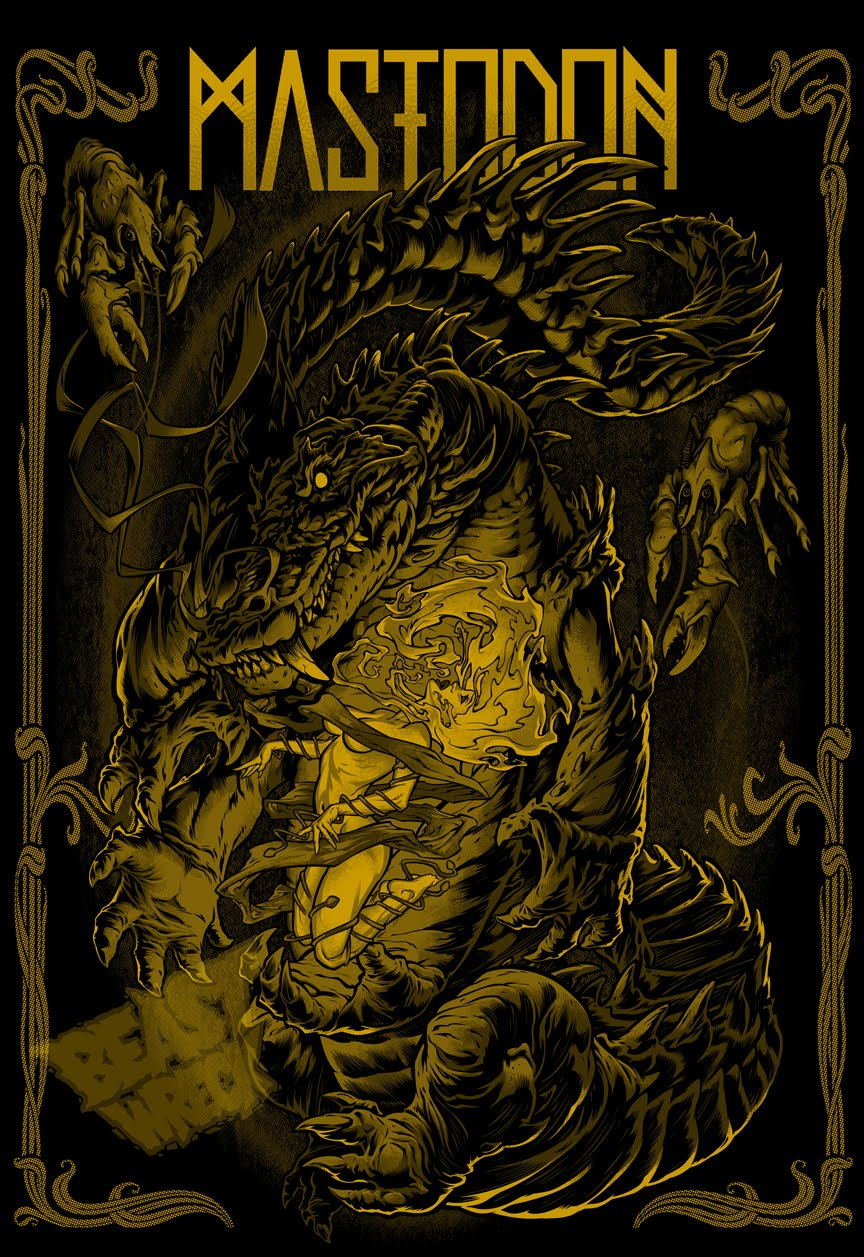 BeastPop ArtWorks: CROC-LORD final colors for RED FANG