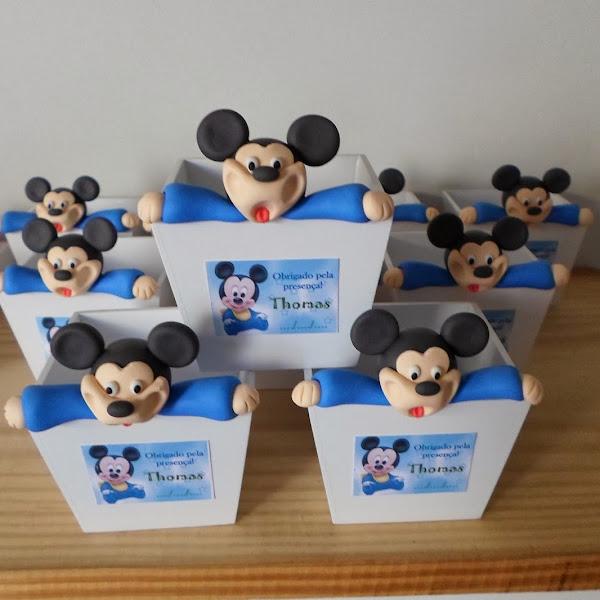 Cachepos do Mickey