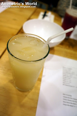 Calpis Water at Ramen Bar