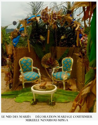 Decoration Mariage Coutumier Gabon
