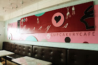 Tables and Chairs in Larcy's Cupcakery!