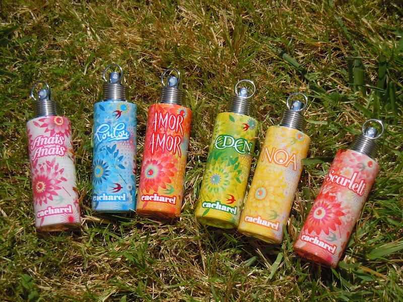 Mlle makeup le paradis cacharel for Cacharel le jardin