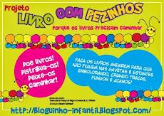 Curta Livro com Pezinhos no Facebook
