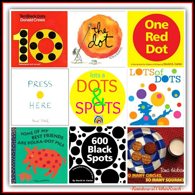 photo of: Lots of DOTS & Spots and Circles: oh my! Roundup at RainbowsWithinReach