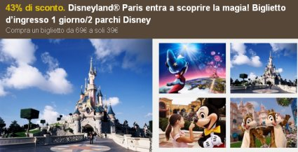sconto Eurodisney