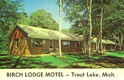 Lodge Motel Postcard