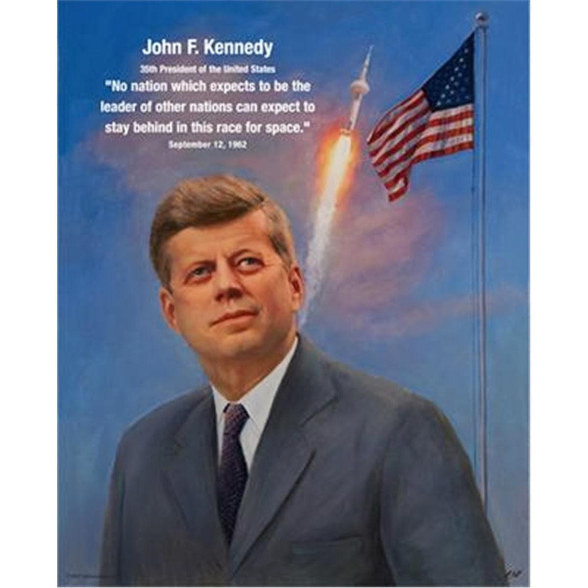 j f kennedy moon speech