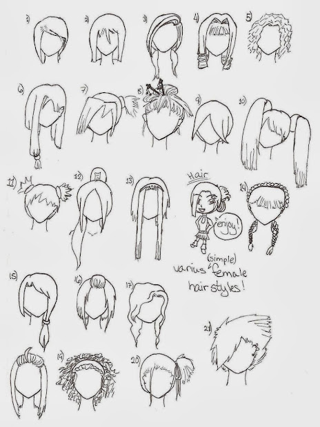 cute anime hairstyles trends