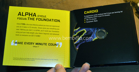 Review Cardio - Focus T25 - Fase ALPHA