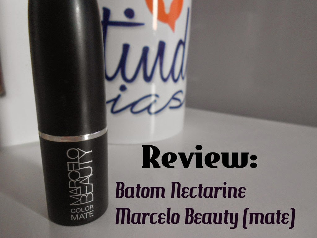 Review: Batom Nectarine do Marcelo Beauty(mate)